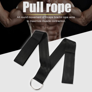 Pull Down Triceps Rope Working-out Comfortable Belt Bicep Muscle Training Rope Decoration for Gym Exercise Fitness