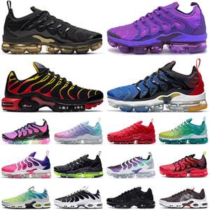 nike air max tn plus airmax tns vapormax vapors vapor mens Tênis de corrida das mulheres dos homens Chaussures treinador de esportes ao ar livre tênis