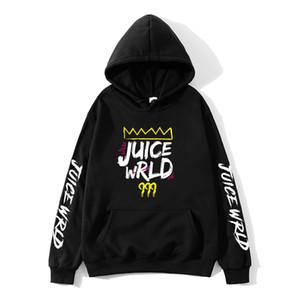 el rojo blanco y negro J UICEWrld trampa de jugo de jugo de un suéter con capucha wrld wrld juicewrld rap arco iris jugo de fallo Y201001 mundo