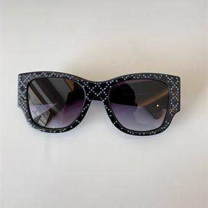 5421 Новые Алмазный женские солнцезащитные очки способа анти-ультрафиолетового зеркальное покрытие линзы овальной пластины рамы высокого качества с защитной крышкой свободной коробки