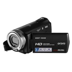ORDRO HD cámara de vídeo digital V12 1080P Inicio de visión nocturna por infrarrojos electrónica anti-Shake