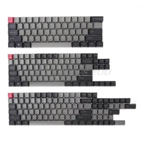 Black Gray Mixed Dolch Thick PBT 104 87 61 Keycaps OEM Profile Key Caps Drop Shipping1