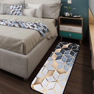 Mozaik Altın Halı Coral Polar Yumuşak Banyo Yatak odası Kapı Sundurma Mutfak Pencere Boş Ev Livingroom Tapete ypDz #