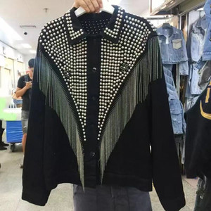denim jacket women xintiandi sherpa streetwear trending products womens jackets and coats LJ200813
