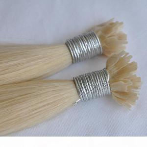 100% 1 g de cabello humano hebra extensiones de cabello de punta plana de la ultra enredo libremente derramamiento de anillo plano brasileño libre en extensiones de cabello