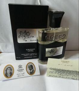 Nouveau Parfum de l'encens Aventus pour hommes Cologne 120ml avec durée longue durée Bonne odeur de bonne qualité Capacités de parfum gratuites