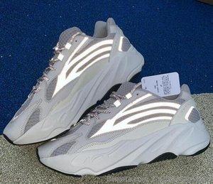 ssYEzZYYEzZYs v2 350 Eva-aumenta Kanye West 700 V2 estático reflectante 3M zapatillas de deporte Nuevo lanzado con la caja Ef2829 RealB00ST Correr Sho