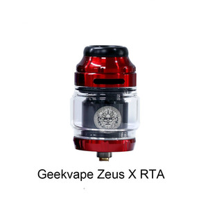Cheap Price Geekvape Zeus X RTA 4.5ml Tank Capacity With Single Dual Coil Build Deck 25mm RTA Atomizer Top-to-side Airflow Leakproof