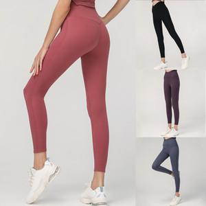 Altas mujeres Pantalones de yoga de cintura alta ropa de yoga deportes crianza de deportes caídas gimnasio desgaste leggings pantalones elásticos aptitud medias entrenamiento gimnasio juego