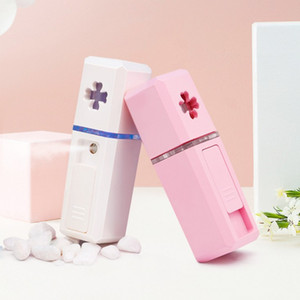 Pièce faciale Humidificateur USB Charge USB Tenir l'eau Instruments complémentaires Nanomètre Beauté Cuisine Visage à la vapeur Instrument Nouvelle arrivée 9 75ys L1