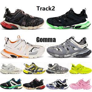 Track2 Release 3.0 4.0 Track 2 Corredores Designer Sapatos Gomma Man Mens Slide Sandália Sport Shoes Casuais Treinadores Sneakers 2021 #