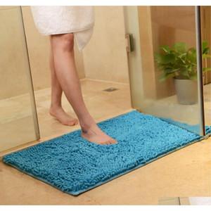 Alfombras de baño para el hogar Alfombras absorbentes suaves de alfombras absorbentes antideslizantes para la entrada, dormitorio, sala de estar, cocina ublfy