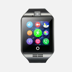 Q18 Smart Watch Bluetooth Sport Watches Supports GPRS SIM Camera Answer Call Waterproof For Android with Gift Retail Box
