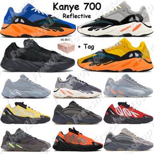 700 2018 El más nuevo color Tephra Analog Hombres Mujeres Zapatos OG Wave Runner Solid Grey Static Mauve Zapatillas de deporte Inertia Geode Vanta Sport Trainers