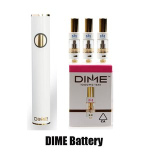 DIME Preheat VV Battery 650mAh Vape Pen Variable Voltage USB Charger Slim Battery Kit For 510 Thread Carts Thick Oil Cartridges Tank