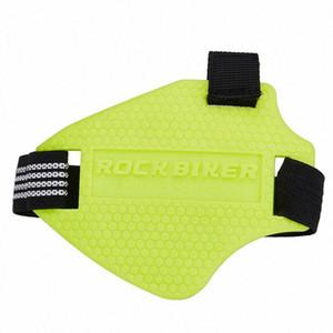 ROCK BIKER pad changement de caoutchouc résistant à l'usure moto mode noir pad de changement de vitesse moto pour les chaussures d'équitation de #