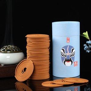 Тарелки / коробка Природного сандал Coil Incense Rose Ароматерапия Аромат Туалет Цветочных Гигиеническая Fragrance Главный Чайный Декор