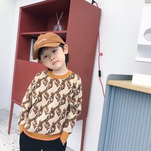 Sıcak Satış Kış Çocuk Kız Erkek Örgü Kazak Moda Çocuk Kazak Sıcak Kazak Erkek Bebek Giysileri