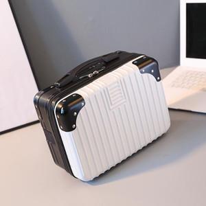 New Style Suitcase Women Small Makeup Bag Light Portable Travel Bag Mini Cute Cosmetic Handbags