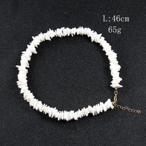 Natural Irregular Shell Fragments Women's Bracelet Necklace Seashell Charm Jewelry Gifts Summer Boho Jewelry For Women H bbyrpW