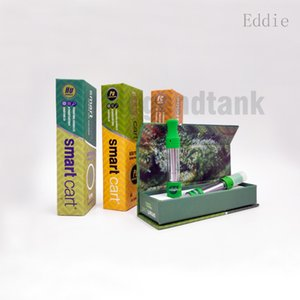 NEW SmartBud Carts Ceramic Coil Cartridges TH105 TH205 510 Thick Oil Atomizer 0.8ml 1.0ml Smart Carts