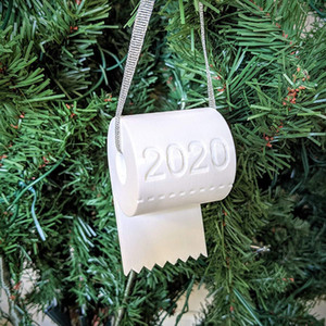 Christmas Ornament 2020, Toilet Paper Christmas Tree Ornament, Christmas Gift, Factory Drect, Good Quality, Fast Shipping