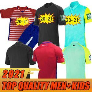 2020 2021 Granada Jersey 20 21 Soldado Fernandez Machis Puertas F.Vico Camisa de Futebol Boys Azeez Herrera Mens Kit Kids