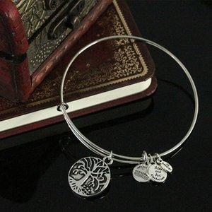 Dell'albero di vita braccialetti dei braccialetti per i regali del cuore di modo per il braccialetto donne del braccialetto placcato argento Charms BRACCIALE