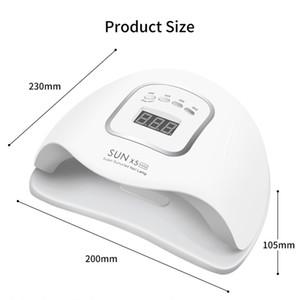 90W LED Lampe à ongles Nail Sèche-mains double 45 PCS lampe LED UV Gel UV pour Durcissement Vernis à ongles avec détecteur de mouvement de manucure Salon outil