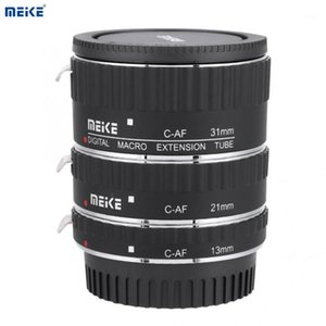 Meike Auto التركيز ماكرو تمديد العدسة محول أنبوب حلقات مجموعة ل EF / EF-S جبل dslr كاميرا meike -c-af 13/21 / 31mm1