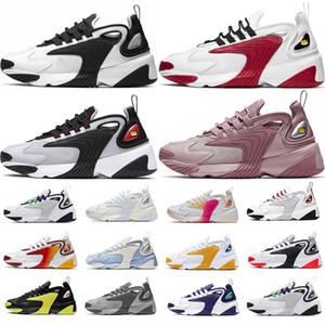 최고 M2K하기 Tekno 확대 2K 남성 여성 실행 신발 패션 2000 경주 레드 블랙 화이트 동적 노랑 회색 적외선 트레이너 운동화 M2K
