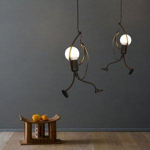 Loft vintage pendant lights retro industrial Restaurant Coffee Bedroom Lighting Bar Kitchen iron light lampe Light Fixture