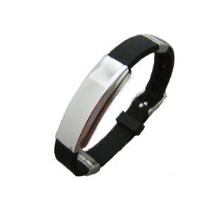 Harajuku Style Personality Couple Bracelet Korean Titanium Steel Silicone Belt Bracelet Unisex Accessories