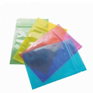 Free Shipping 8*12CM Bags Packing Storage Bag Plastic Package Pouch Heat Seal Zip Lock A08