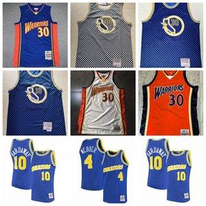 UominiDoratoStatoGuerrieri Stephen Curry Penny HardAway Webber Mitchell Ness Basket Blay Jersey; Swingmen Jerseys Pallacanestro