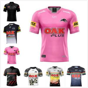 2021 Penrith Panterler Yerli Rugby Formaları 2019 2020 Ev Forması Ulusal Rugby Ligi Rugby Avustralya NRL Gömlek Boyutu S-3XL