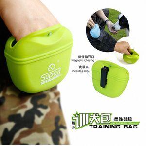 Pet Dog Training Treat snack Bait Dog Obedience Agility sacchetto esterno del sacchetto i cani Snack Bag pack sacchetto di gel di silice Vita Borse iSfu #