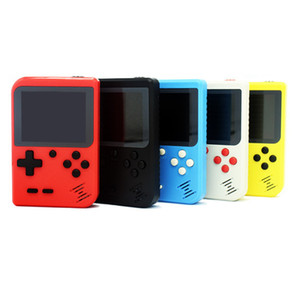 Retro 400 in 1 8 Bit Doubles Mini Handheld Portable Game Players Game Console 3 LCD Screen Support TV-Out with Retail Box