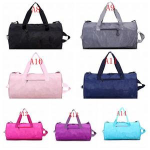 أكياس القماش الخشن للنساء الرجال الرياضة الليزر حقائب السفر العاكسة رسائل سعة كبيرة حقيبة الأمتعة للماء مراهق حقائب عالية الجودة