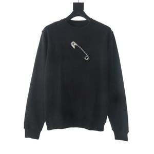 새로운 패션 남성 후드 커플 캐주얼 스웨터 긴 소매 스트리트 힙합면 높은 품질 느슨한 맞춤 여자 까마귀 운동복