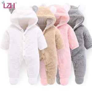 LZH Winteranzüge Mädchen Kostüm Herbst Neugeborene Kleidung Spielanzug für Baby-Overall-Säuglings-Kleidung 200922