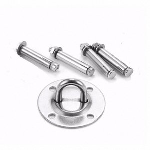 Wall Mount Bracket for Suspension Straps Wall and Ceiling Mount Suspension fixing hook hanging plate hanging ring fixing buckle QfVG#