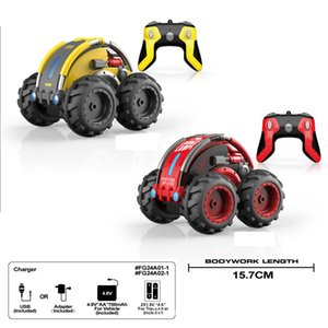 Mini remote control high speed short card four wheel drive small climbing cross country charging boy toy children's car