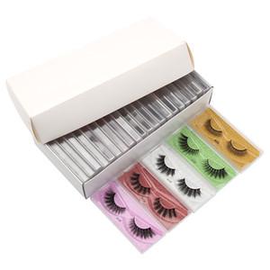Free shipping New Faux 3D Mink Eyelashes Messy Fake 3d Mink Lashes Natural Soft Wholesale False Eyelashes Makeups fluffy Fake eyeLashe