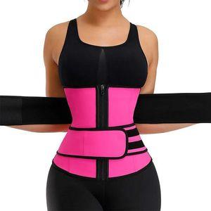 2021 Новая талия на молнии Zipper Trainer Body Forming Одежда женская формовочная ремень ремень ремень ремень ремень ремень ремень потомок