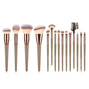 FLD Professional Chubby Foundation Single Brush Flat Cream Eyelash Eyebrow Eyeshadow Powder Makeup Brushes Cosmetic Make Up Tool