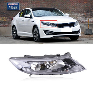 CAPQX Pour KIA K5 Optima 2011 2012 2013 Pare-choc avant Phare Lampe frontale Head Light Lamp Assemblée