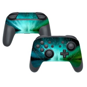 Sticker Vinyl Skin For Nintend Switch NS PRO Controller Gamepad Protector 1PCS Game Cover Decals Protector Starry Sky Stickers