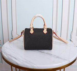 Высокая цепочка с конффамитью мешок для пыли пакеты по крестообразуют мода M61252SHOUDER BAG MINI NANO MALXF дизайнеры женщины Speedy Luxurys сумки PU NGTC
