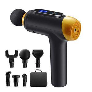 Massage Gun Fascia Gun Muscle Relax Massager Electric Massager Fitness Equipment Noise Reduction Design For Male Female
